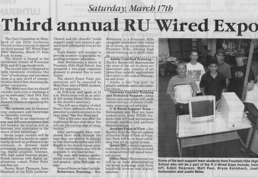 R U Wired Article